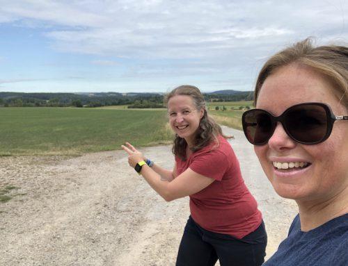 Maandoverzicht juli 2020: wandelen en schrijven, de ideale combi!