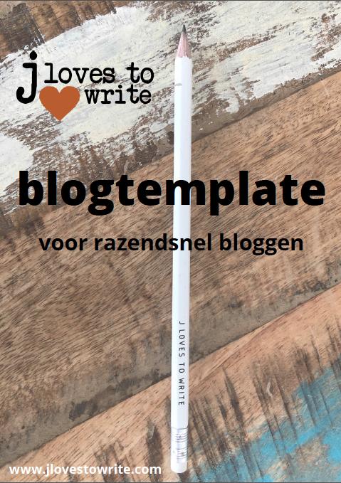 Voorzijde Blogtemplate